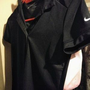 Nike collar shirt